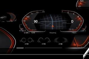 Новая информационно-развлекательная панель приборов BMW