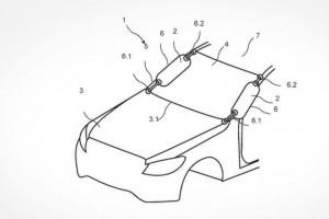 Запатентована новая система безопасности от компании Mercedes