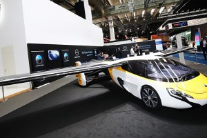 Словаки презентовали летающий автомобиль во Франкфурте