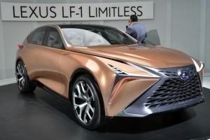 Презентация флагманского кроссовера Lexus