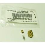 Клапан 1-й ступени для редуктора BRC Tecno M (шесть граней)