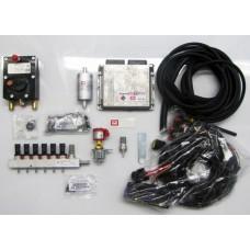 Пропановый 6 цил. к-кт BRC Sequent Plug&Drive  от 200 л.с. рядный двигатель