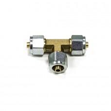 Тройник соединительный Т-образный D8xD8xD8 мм для термопластиковой трубки