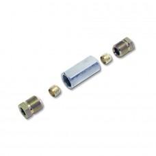Переходник соединительный D8-D8  для медной трубки, BRC