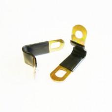 Крепление трубки в оплетке для термопластиковой трубки