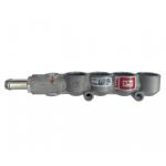 Рампа BRC на 4 цилиндра c разъемом под датчик sensata, под форсунки MY09