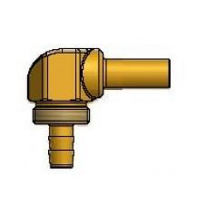 Штуцер Faro соединительный для термопластиковой трубки диам. 8, 90°