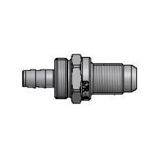 Штуцер Faro соединительный для термопластиковой трубки диаметр 8