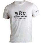 Белая футболка BRC с надписью на груди