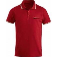Красная футболка поло BRC